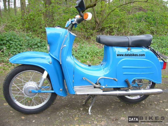 1966 Simson  KR51 Motorcycle Motor-assisted Bicycle/Small Moped photo
