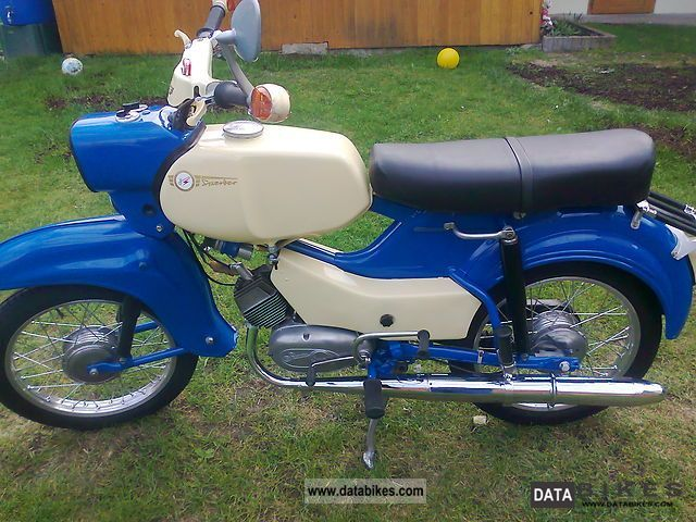 1967 Simson  hawk Motorcycle Motor-assisted Bicycle/Small Moped photo