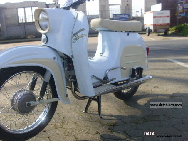 1980 Simson  Swallow Motorcycle Motor-assisted Bicycle/Small Moped photo