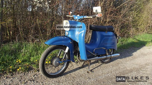 1970 Simson  Swallow - TOP! IT WORKS! Motorcycle Scooter photo