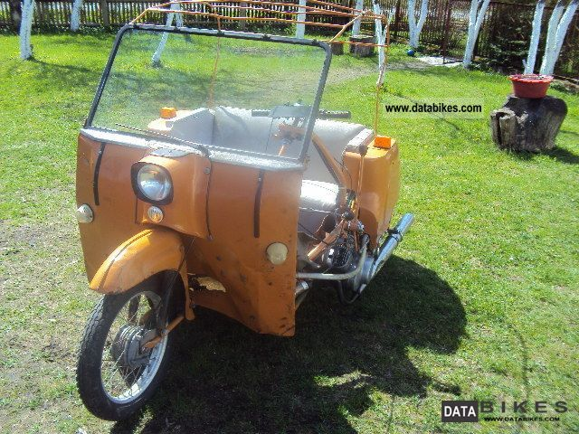 1988 Simson  Duo 4/1 Motorcycle Motor-assisted Bicycle/Small Moped photo