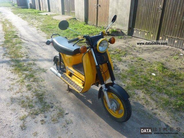 1985 Simson  SR50 Motorcycle Motor-assisted Bicycle/Small Moped photo