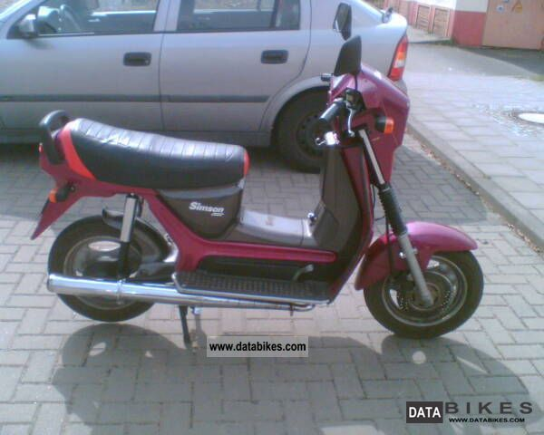 1993 Simson  SR 50/1 Motorcycle Scooter photo