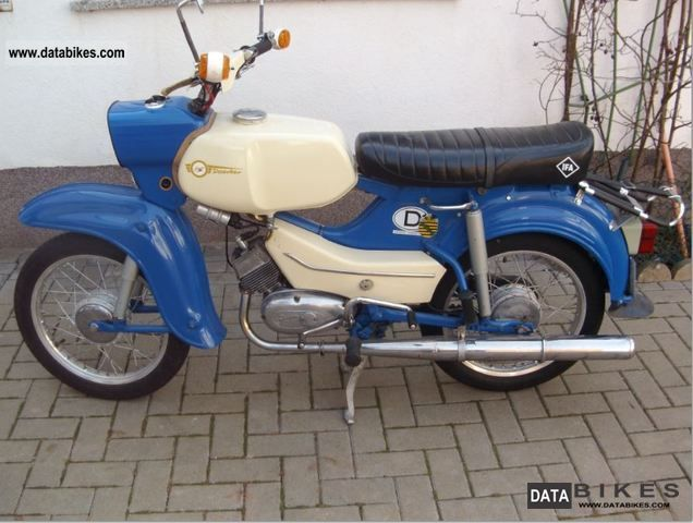 Simson  Hawk 1972 Vintage, Classic and Old Bikes photo