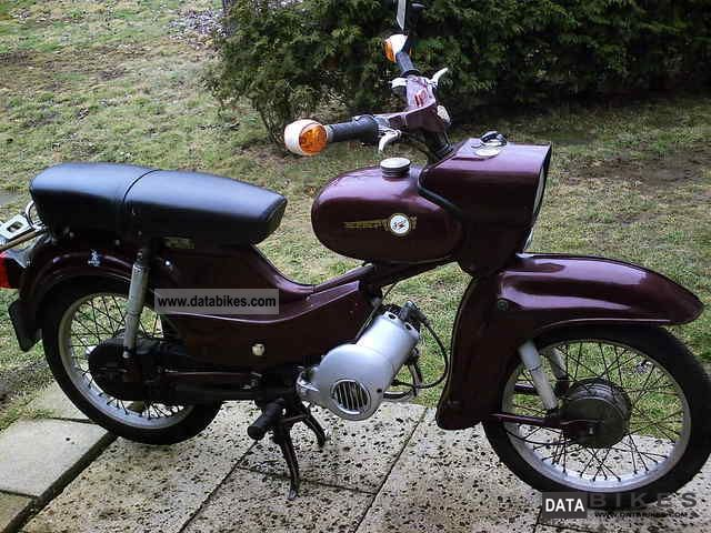 Simson  SR 4/2 1976 Vintage, Classic and Old Bikes photo