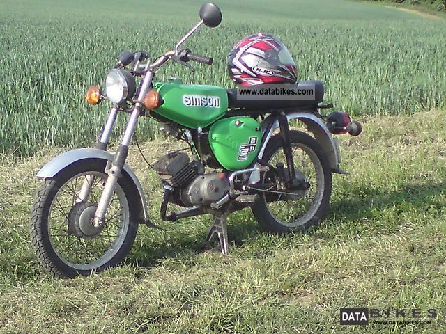 Simson  S51B1 1972 Vintage, Classic and Old Bikes photo