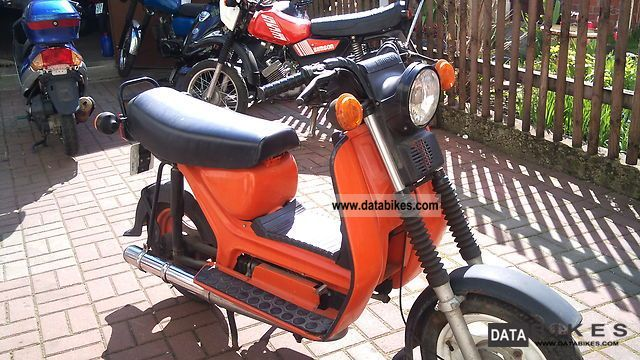 1994 Simson  sr50 Motorcycle Motor-assisted Bicycle/Small Moped photo