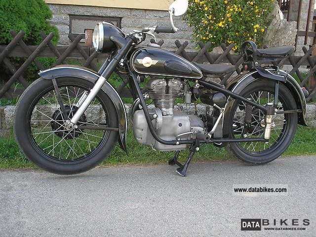Simson  AWO D 1958 Vintage, Classic and Old Bikes photo