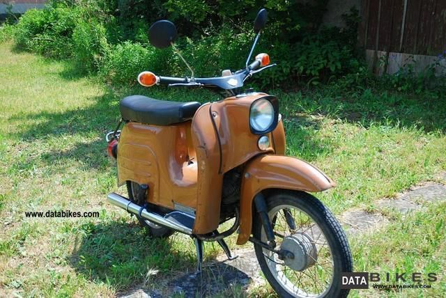 1985 Simson  Swallow Motorcycle Motor-assisted Bicycle/Small Moped photo