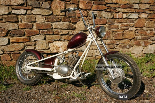 2008 Simson  Chopper S51 MZ TS150 conversion engine Motorcycle Motorcycle photo