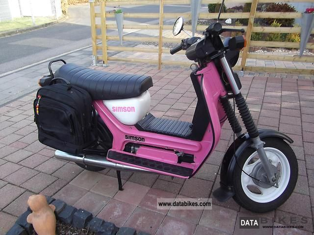 1991 Simson  SR 50 Motorcycle Scooter photo