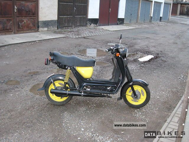 1997 Simson  SR 50 Motorcycle Motor-assisted Bicycle/Small Moped photo