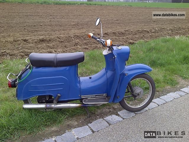 1981 Simson  Swallow Motorcycle Motor-assisted Bicycle/Small Moped photo