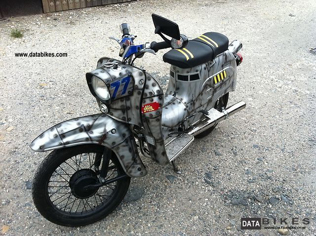 2011 Simson  Swallow Motorcycle Motor-assisted Bicycle/Small Moped photo