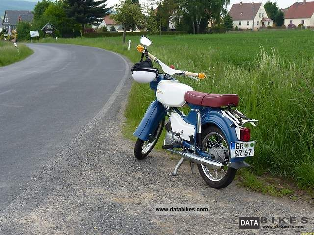 Simson  Sperber SR4-3 1967 Vintage, Classic and Old Bikes photo