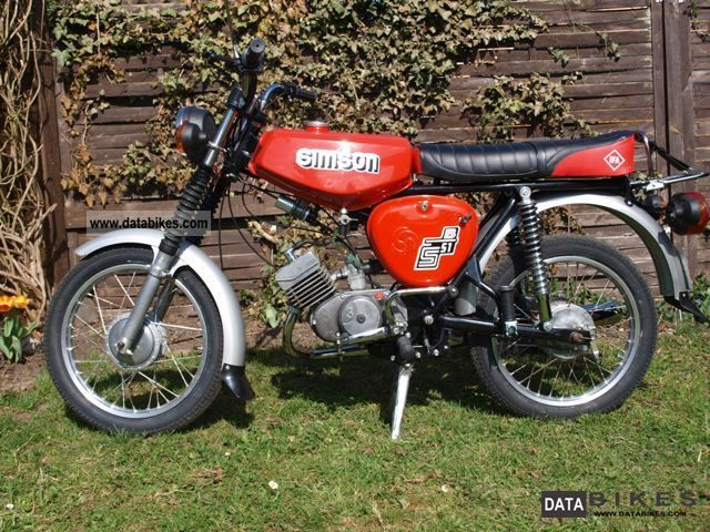 Simson  S51 B1-4 1976 Vintage, Classic and Old Bikes photo