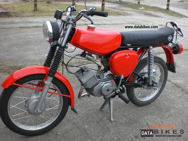 Simson  Moped S 50 N 1977 Vintage, Classic and Old Bikes photo