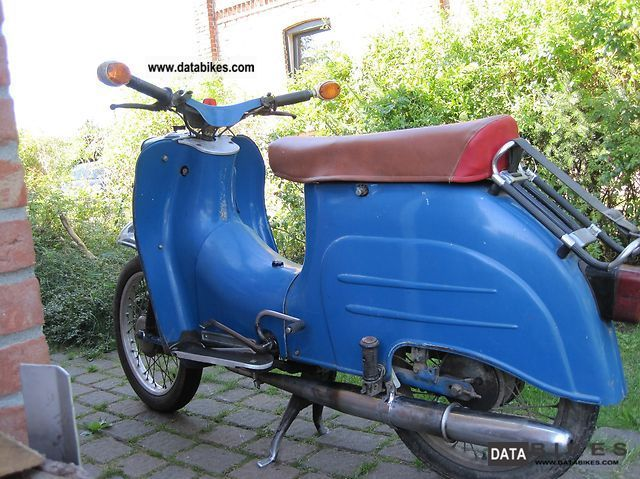 Simson  Swallow 1961 Vintage, Classic and Old Bikes photo