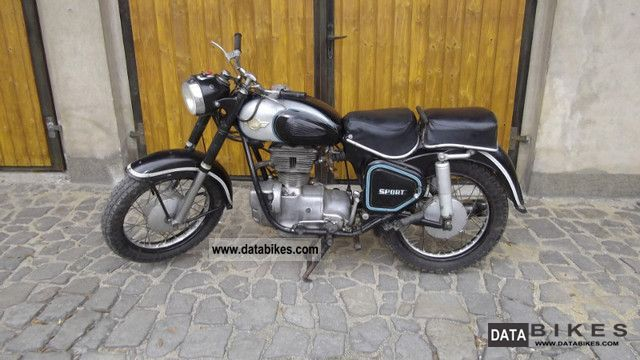 Simson  AWO sport 1961 Vintage, Classic and Old Bikes photo