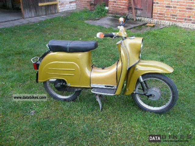 2000 Simson  Swallow Motorcycle Motor-assisted Bicycle/Small Moped photo