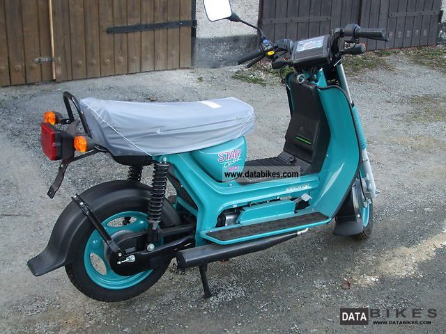 2000 Simson  SR 80/1 Motorcycle Scooter photo