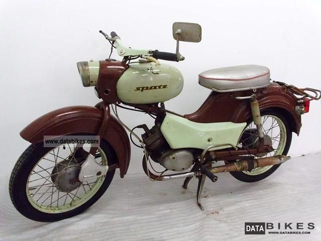 Simson  Sparrow 1966 Vintage, Classic and Old Bikes photo