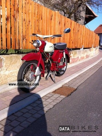 Simson  Sparrow 1964 Vintage, Classic and Old Bikes photo