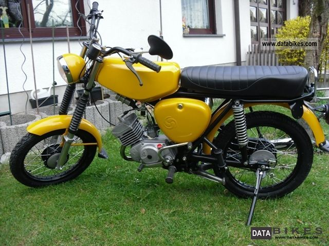 Simson  S 51 N 4-speed 1979 Vintage, Classic and Old Bikes photo