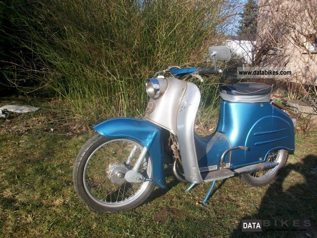 Simson  KR 50 1959 Vintage, Classic and Old Bikes photo