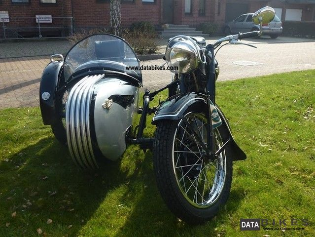 1959 simson awo 425 t with a sidecar. Black Bedroom Furniture Sets. Home Design Ideas