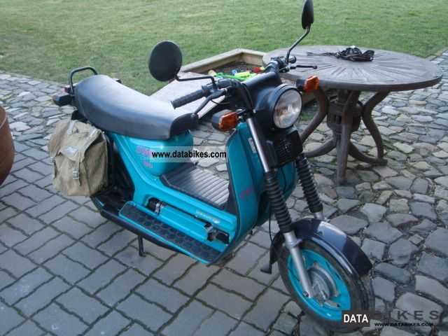 2002 Simson  SR50 Motorcycle Motor-assisted Bicycle/Small Moped photo