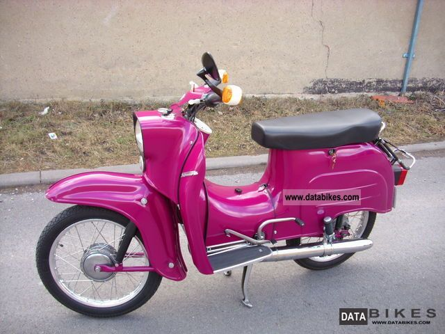 Simson  Schwalbe KR 51/1 1976 Vintage, Classic and Old Bikes photo