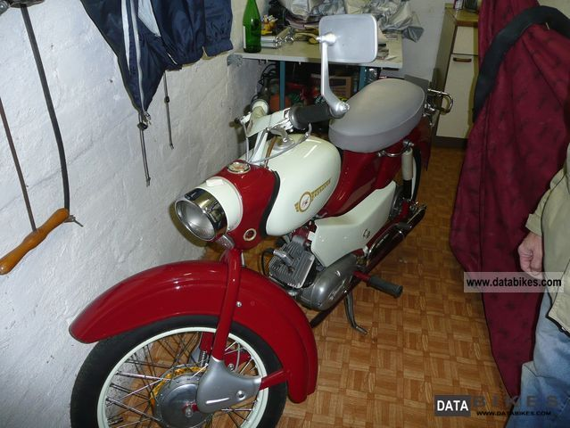 Simson  SR 4-1 1969 Vintage, Classic and Old Bikes photo