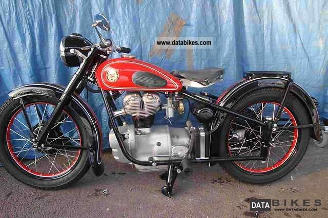 Simson  AWO 425 T 1952 Vintage, Classic and Old Bikes photo