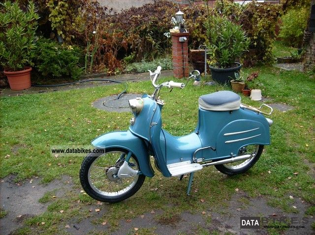 Simson  KR 50 1962 Vintage, Classic and Old Bikes photo