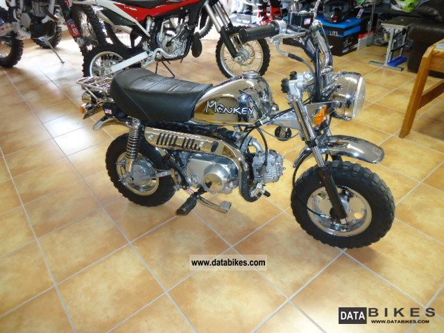 2006 Skyteam  50 Chrome Special Edition Monkey Motorcycle Motor-assisted Bicycle/Small Moped photo