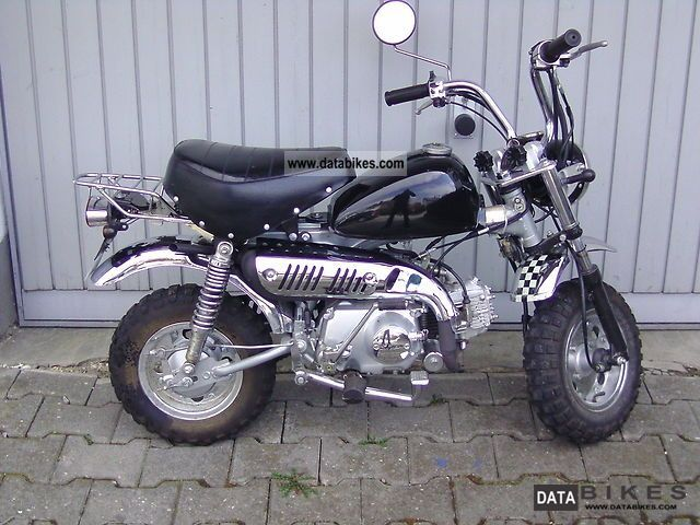 2007 Skyteam  Monkey 06 Motorcycle Motor-assisted Bicycle/Small Moped photo