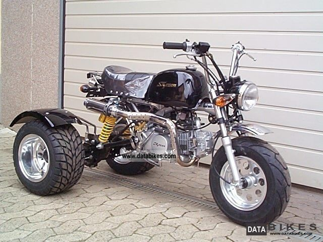 2011 Skyteam  ST160-6 Dax Professional160cc Motorcycle Motorcycle photo