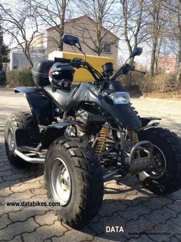 2004 SMC  Rex 250 Motorcycle Quad photo