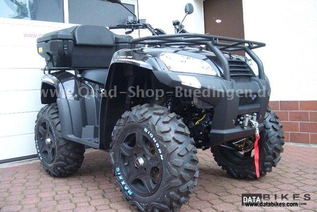 2011 SMC  Barossa Jumbo Max 700 LOF (argon Explorer 700) Motorcycle Quad photo
