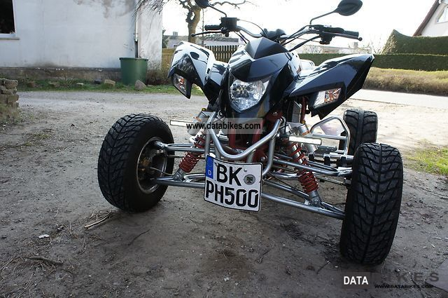 2011 SMC  500 Supermoto Motorcycle Quad photo