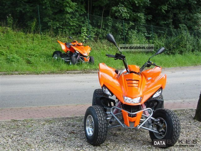 2011 SMC  Bronco 300 Motorcycle Quad photo