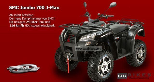 2011 SMC  Jumbo 700 J-Max 4x4 Motorcycle Quad photo