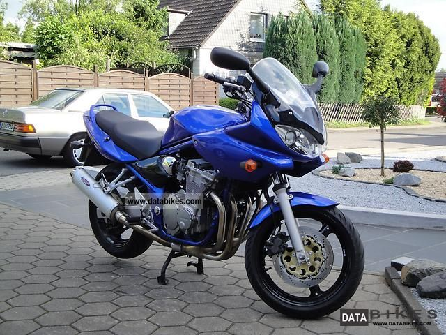 2002 Suzuki  Gsf 600 s bandit Motorcycle Sport Touring Motorcycles photo