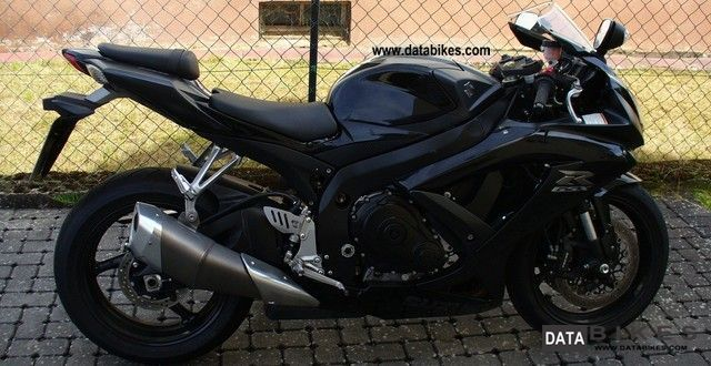 2008 Suzuki  GSX-R 750 Motorcycle Sports/Super Sports Bike photo