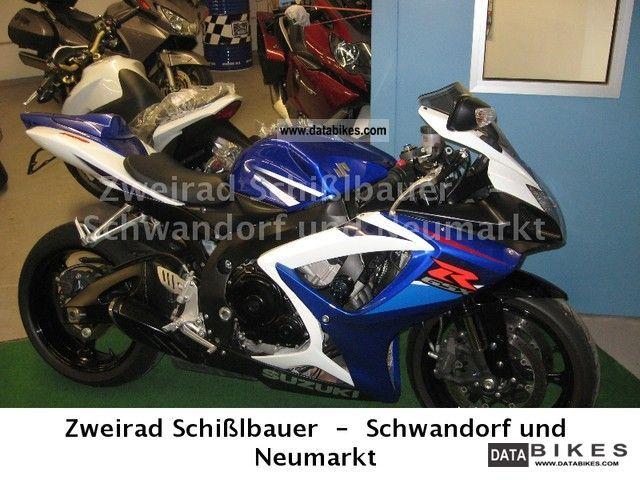 2007 Suzuki  GSX-R 750 Motorcycle Motorcycle photo