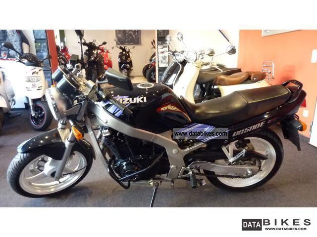 1993 Suzuki  GS 500 EUP Motorcycle Sport Touring Motorcycles photo