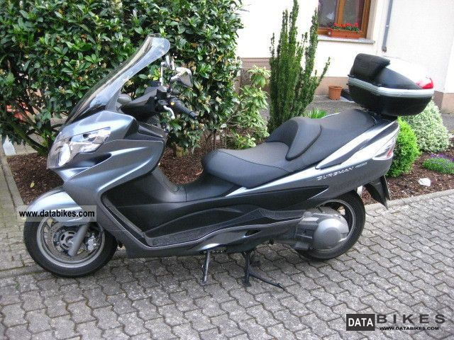 2006 Suzuki  Burgmann 400 Motorcycle Scooter photo