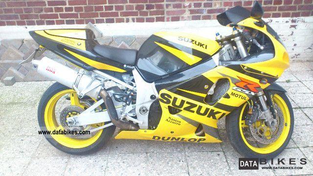 2002 Suzuki  GSX-R 750 K2 Motorcycle Sports/Super Sports Bike photo