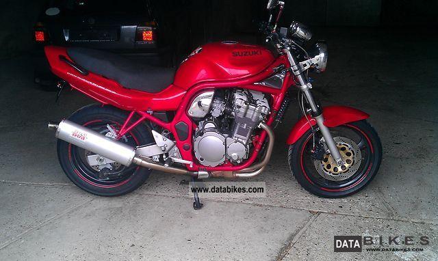 1998 Suzuki  Bandit 600 Motorcycle Motorcycle photo